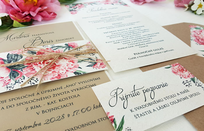 Výnimočné svadobné oznámenia !